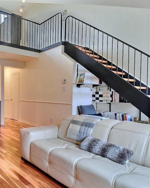 Escalier ouvert
